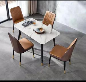 Marble Top Dining Table | Furniture for sale in Lagos State, Ojo