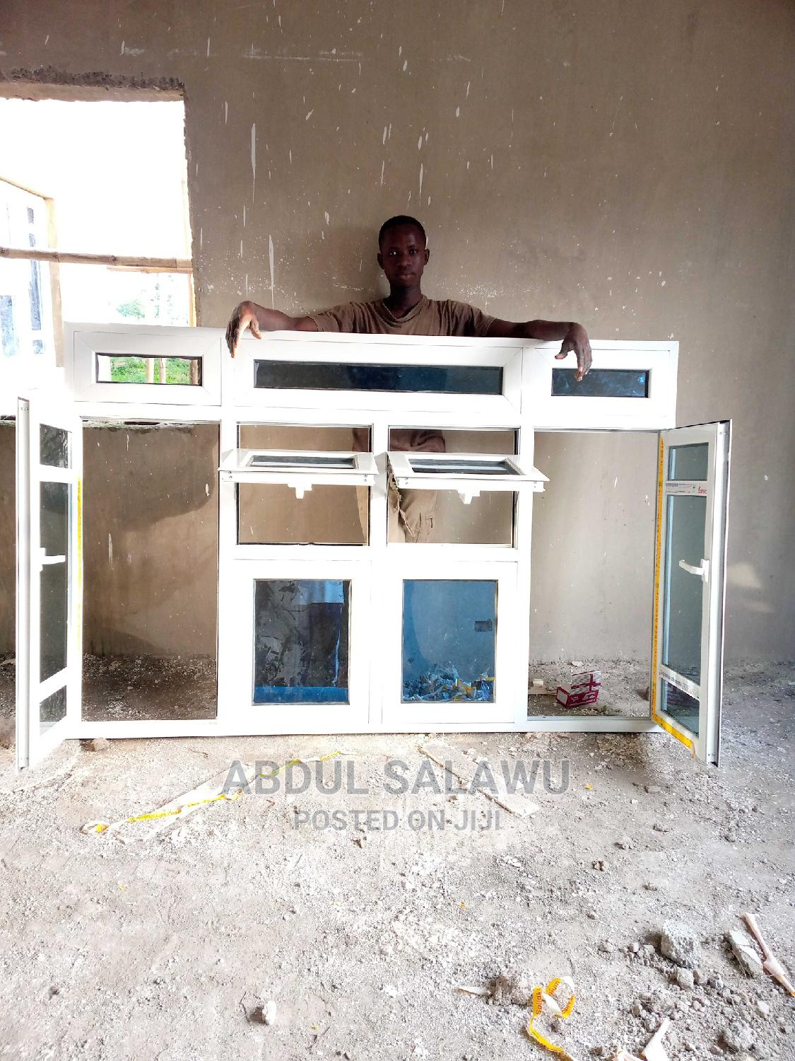 Archive: Aluminum Casement Window With Arc and Double-Projected