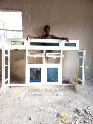 Aluminum Casement Window With Arc and Double-Projected | Windows for sale in Abuja (FCT) State, Asokoro