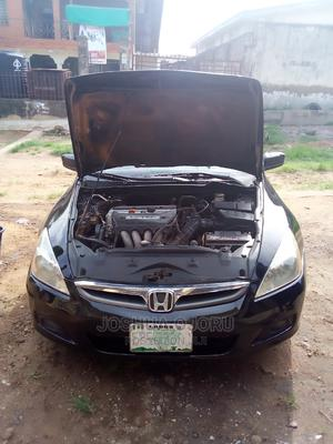 Honda Accord 2005 2.4 Type S Automatic Black | Cars for sale in Ogun State, Abeokuta South