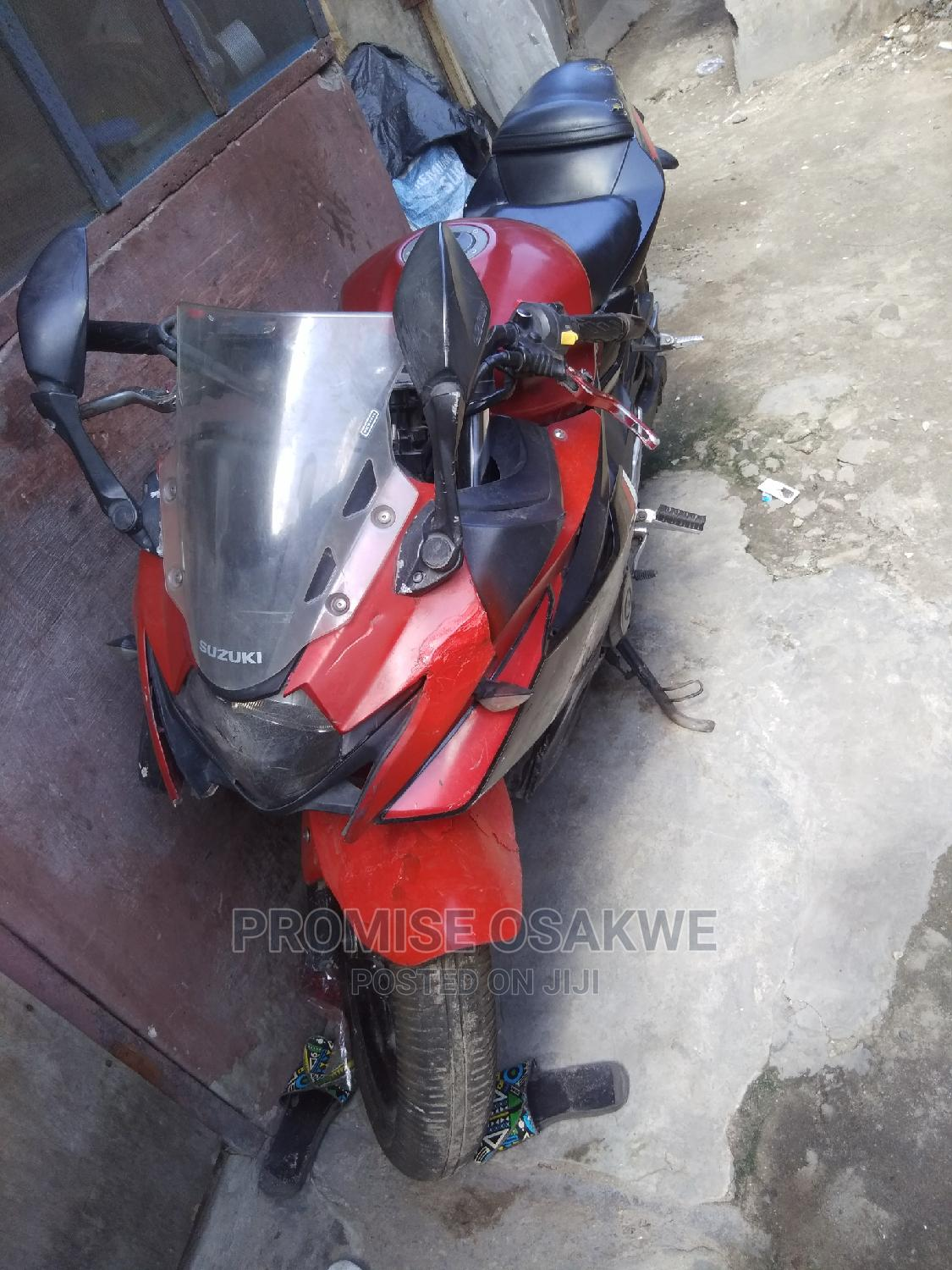 Suzuki GSX 2018 Red   Motorcycles & Scooters for sale in Apapa, Lagos State, Nigeria