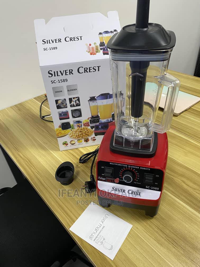 Silver Crest Blender 4500 Watts