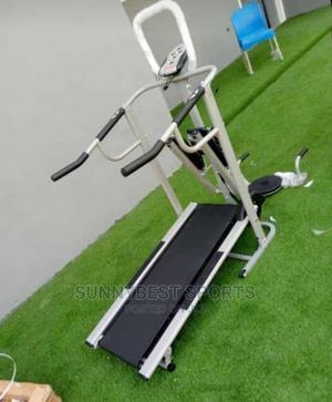 Manual Treadmill With Twista and Push Up | Sports Equipment for sale in Lagos State, Surulere