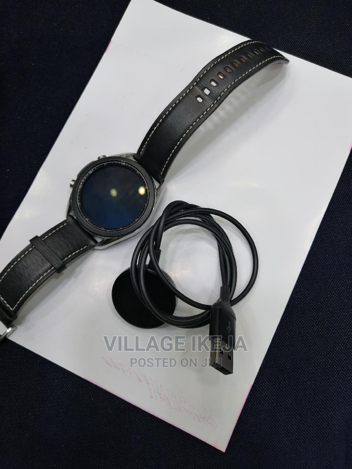 Used Samsung Galaxy Watch 3 45mm | Smart Watches & Trackers for sale in Ikeja, Lagos State, Nigeria
