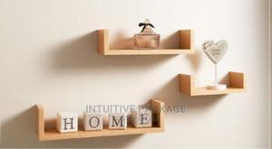 Set of 3 U Shaped Floating Wall Shelves Shelf Storage Displa | Furniture for sale in Lagos State, Ikeja