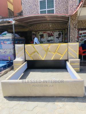 6by6 Royal Padding Bedframe | Furniture for sale in Lagos State, Ikeja