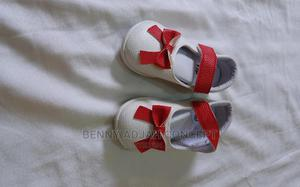 Beautiful Shoes With a Touch of Red for a Beautiful Baby   Children's Shoes for sale in Lagos State, Lekki