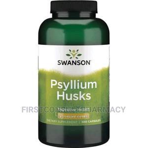 Swanson Psyllium Husk 610mg X 300 | Vitamins & Supplements for sale in Lagos State, Surulere