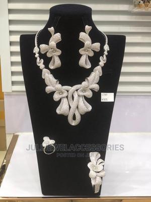 Zirconia Stone Jewelry Set | Jewelry for sale in Lagos State, Ojo