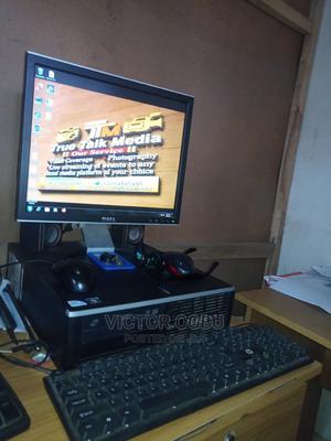 Desktop Computer HP ProDesk 600 G3 2GB Intel Core 2 Quad HDD 320GB   Laptops & Computers for sale in Benue State, Makurdi