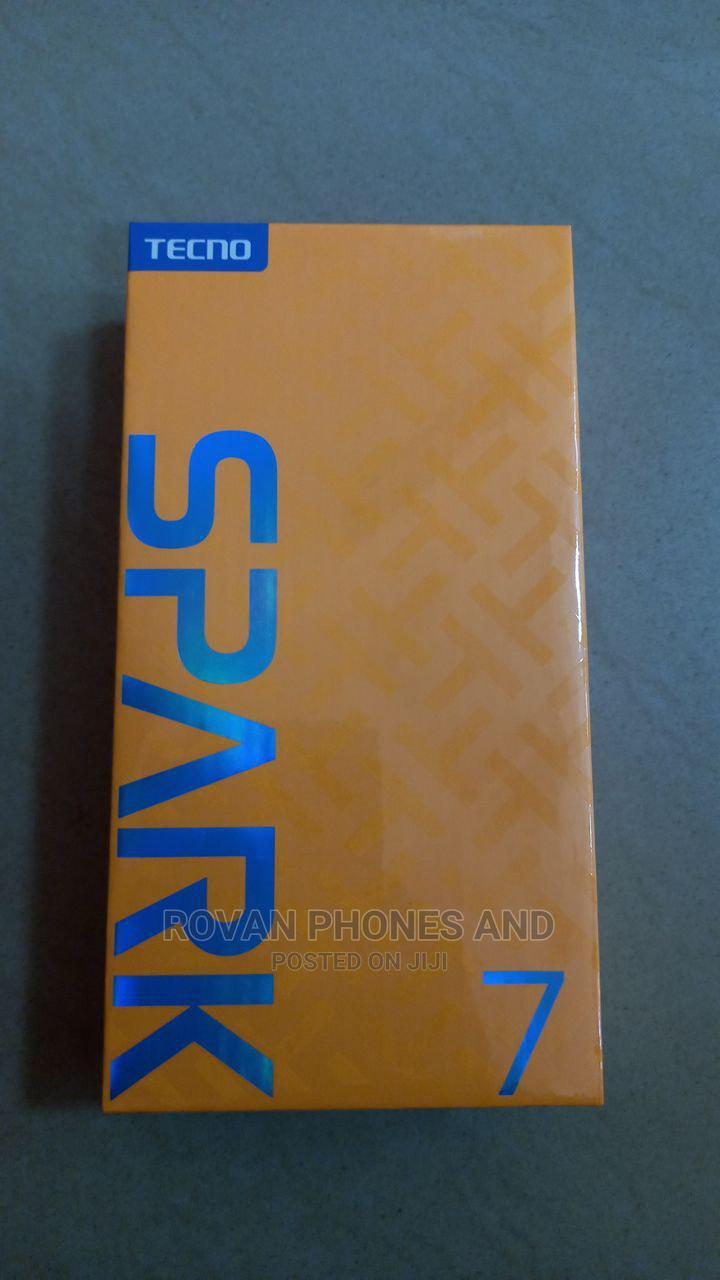 New Tecno Spark 7P 64 GB Blue