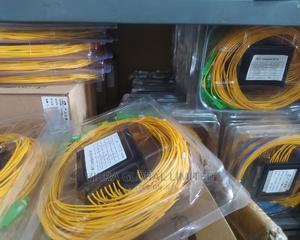 Fiber Splitter 1X8 Sc/Upc, SPLITS 1 FIBER CABLE TO 8   Accessories & Supplies for Electronics for sale in Lagos State, Ikeja