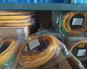 Fiber Splitter 1X2 Sc/Upc, SPLITS 1 FIBER CABLE TO 2   Accessories & Supplies for Electronics for sale in Lagos State, Ikeja