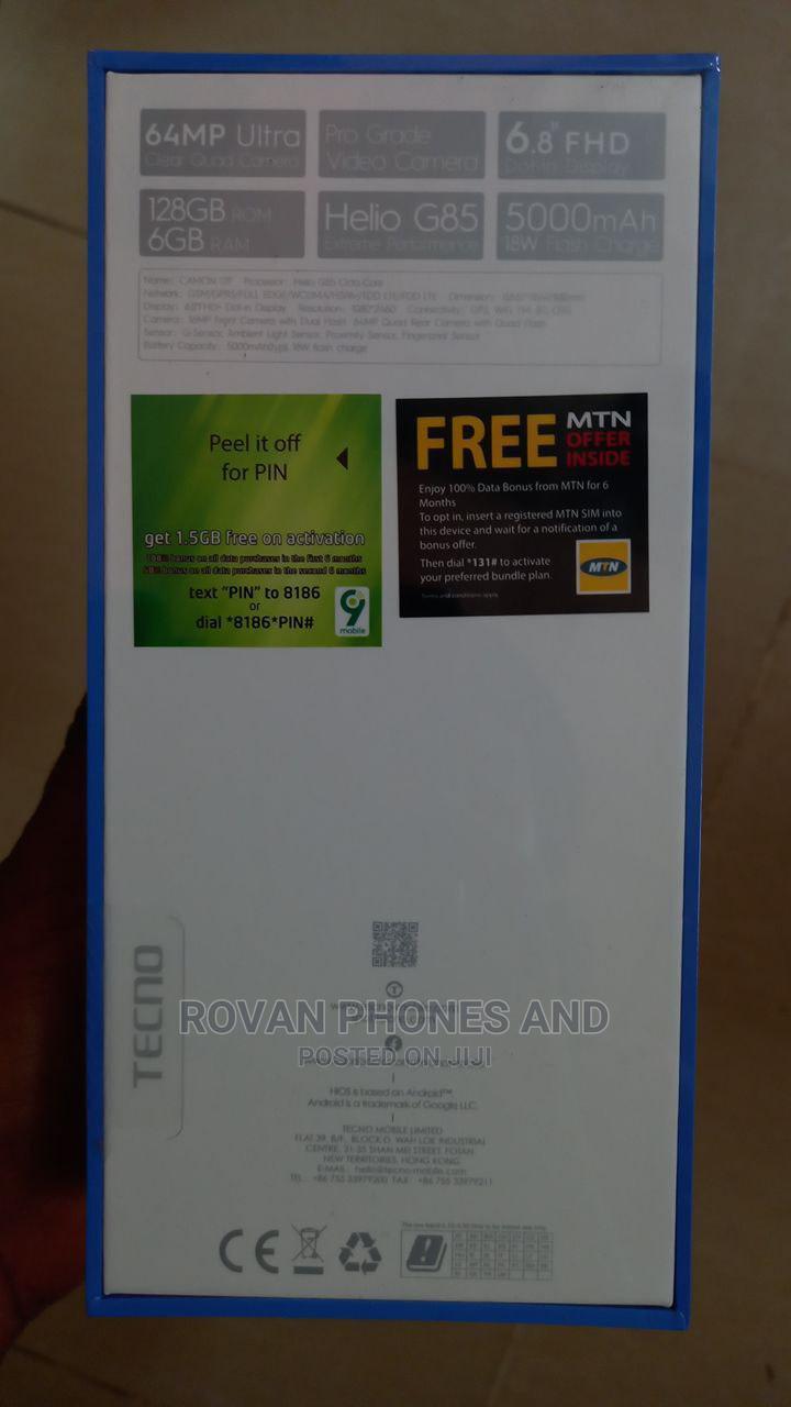 New Tecno Camon 17P 128 GB Green   Mobile Phones for sale in Ikeja, Lagos State, Nigeria