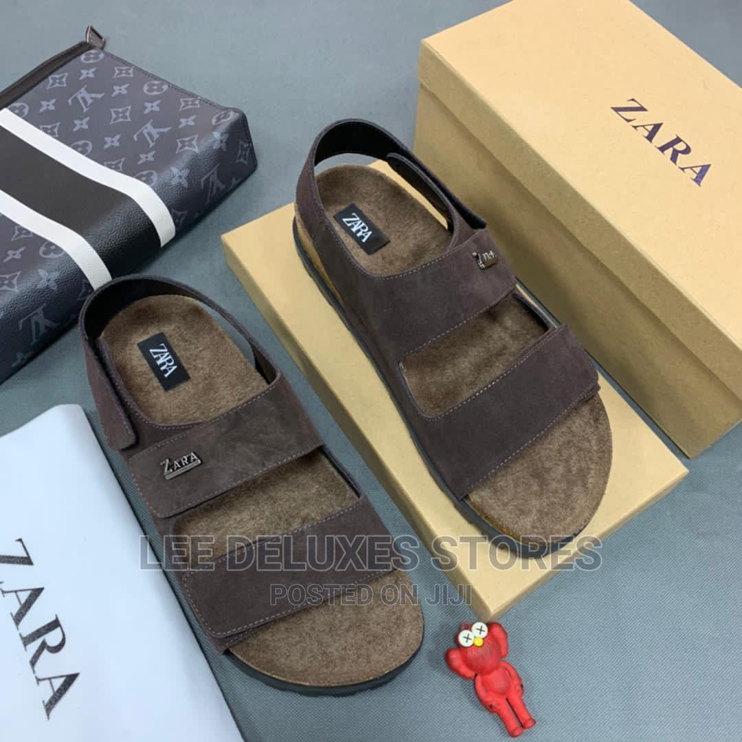 Archive: Original ZARA Men Suede Sandals*