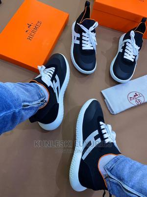 Original Hermes Leather Sneakers   Shoes for sale in Lagos State, Surulere