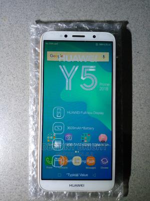 Huawei Y5 32 GB Yellow | Mobile Phones for sale in Rivers State, Port-Harcourt