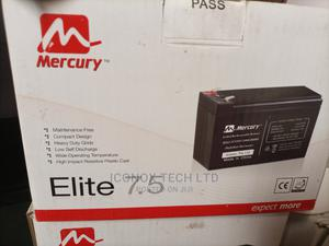 Mercury UPS Replacement Battery 7.5ah 12V | Computer Hardware for sale in Lagos State, Ikeja