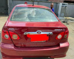 Toyota Corolla 2007 S Red | Cars for sale in Lagos State, Ikeja