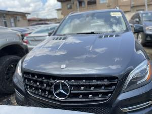 Mercedes-Benz M Class 2013 ML 350 4Matic Gray   Cars for sale in Lagos State, Isolo