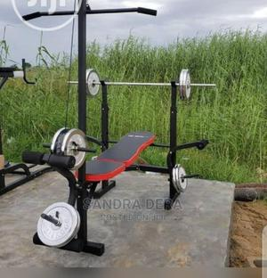 Multi Weight Bench With 50kg   Sports Equipment for sale in Lagos State, Lekki
