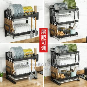 3 Tier Wall Mounted Dish Drainer Dish Drainer Rack Holder | Kitchen & Dining for sale in Lagos State, Lagos Island (Eko)