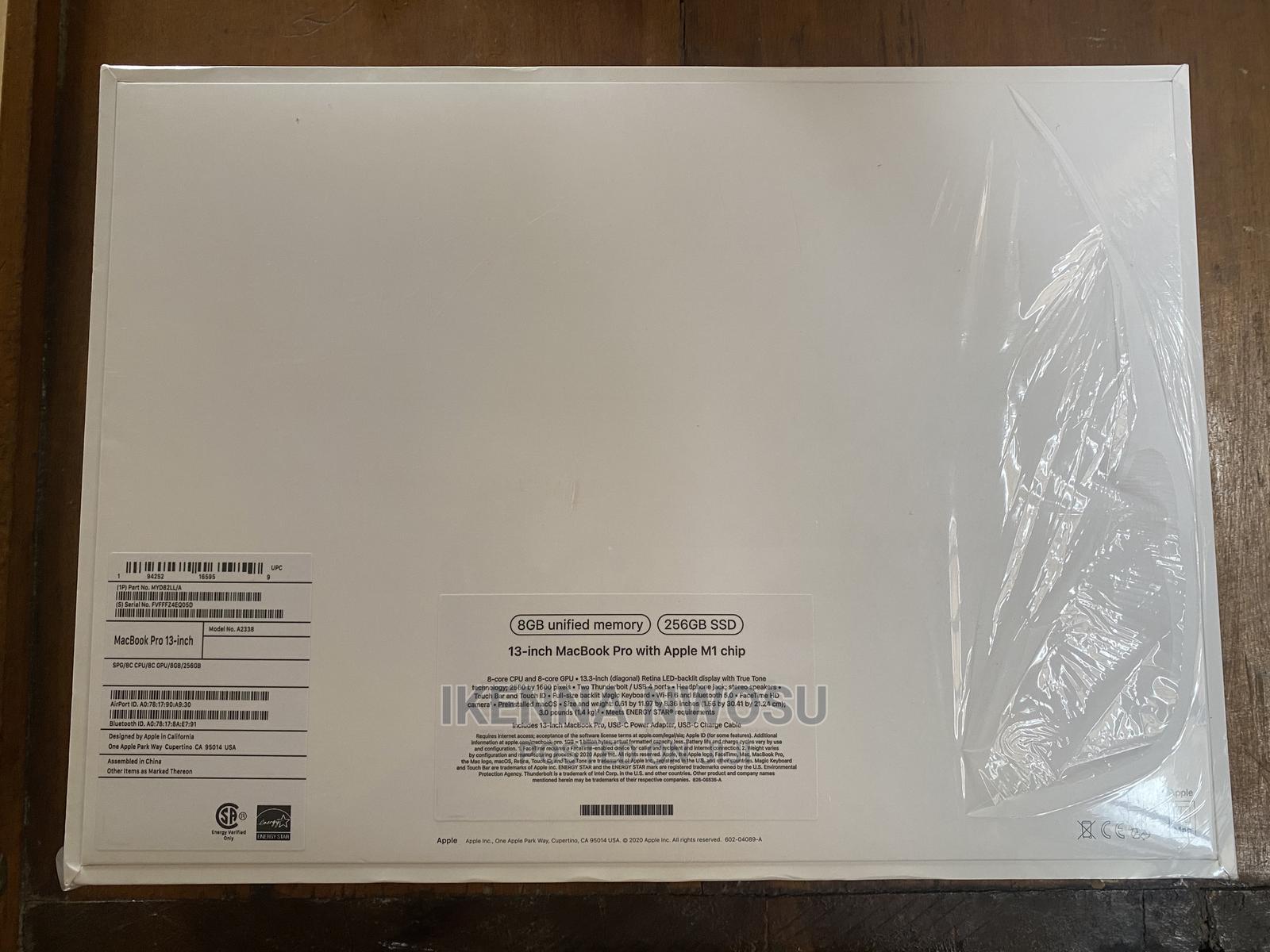 New Laptop Apple MacBook Pro 8GB Intel Core M SSD 256GB   Laptops & Computers for sale in Ikeja, Lagos State, Nigeria