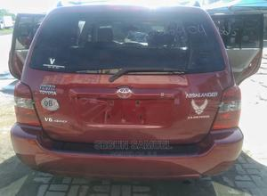 Toyota Highlander 2006 Limited V6 4x4 Red | Cars for sale in Lagos State, Ajah