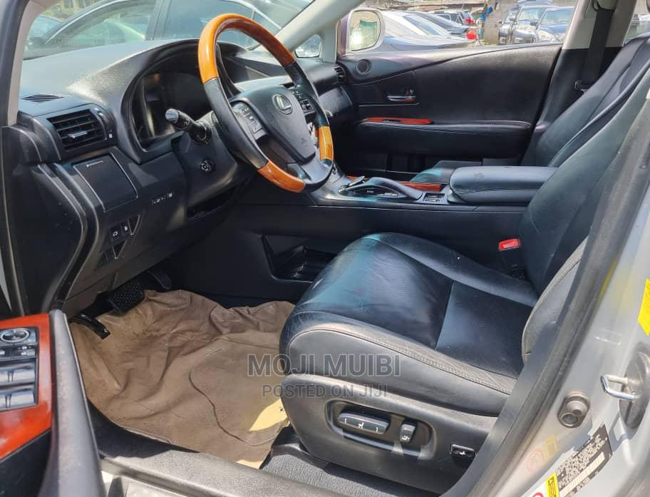 Lexus RX 2010 350 Silver | Cars for sale in Port-Harcourt, Rivers State, Nigeria