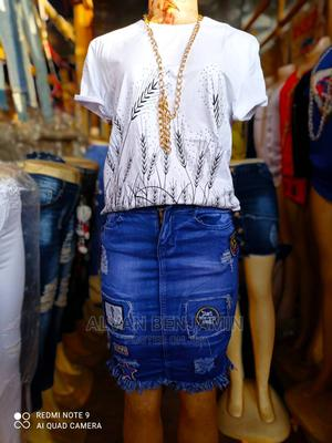 Stock Jean Skirts Available   Clothing for sale in Bayelsa State, Yenagoa