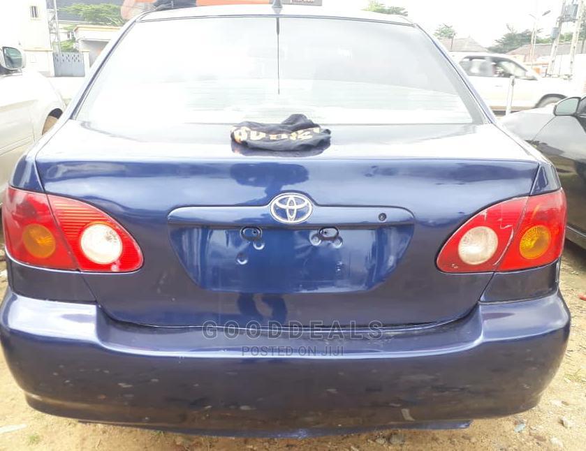 Archive: Toyota Corolla 2003 Blue