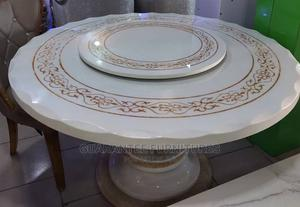 High Quality Modern 6 Seaters Marble Round Dining Tables   Furniture for sale in Lagos State, Oshodi