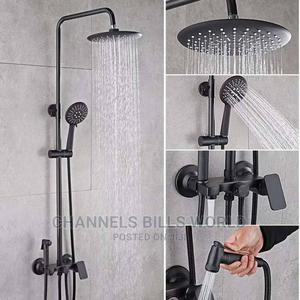 Anti Rust Black Shower   Plumbing & Water Supply for sale in Lagos State, Surulere