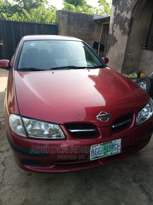 Nissan Almera 2004 Tino Red | Cars for sale in Oyo State, Oluyole