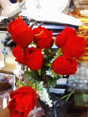 12 Stems Red Artificial Rose   Garden for sale in Lagos State, Ajah