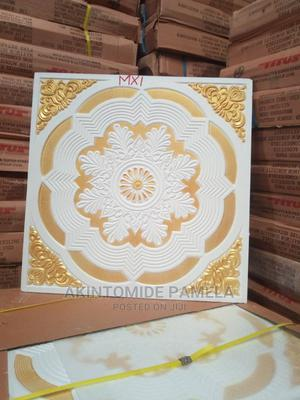 Gold Ceiling Tiles POP   Building Materials for sale in Lagos State, Maryland