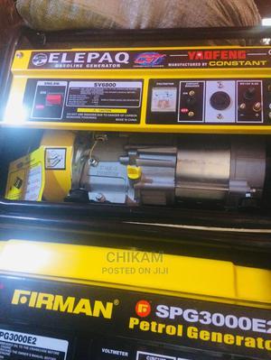 Sv6800 Elepaq Generator   Electrical Equipment for sale in Lagos State, Lagos Island (Eko)