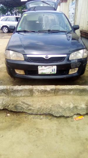 Mazda 323 2000 Black   Cars for sale in Rivers State, Port-Harcourt