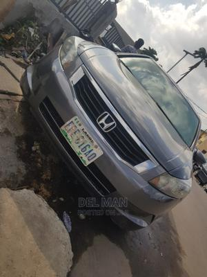 Honda Accord 2008 Gray   Cars for sale in Lagos State, Surulere