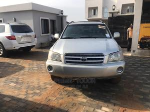 Toyota Highlander 2003 Limited V6 AWD Silver | Cars for sale in Lagos State, Surulere