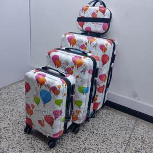 High Quality White Swiss Polo Suitcase Luggage Box   Bags for sale in Lagos State, Ikeja
