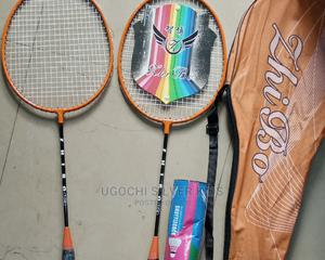 2in1 Zhibo Badminton Racket With the Ball | Sports Equipment for sale in Lagos State, Surulere