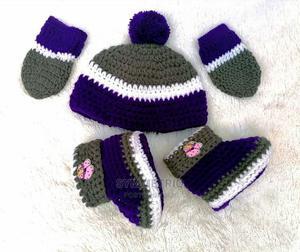 New Born Crochet Gift Set | Children's Clothing for sale in Lagos State, Ikeja