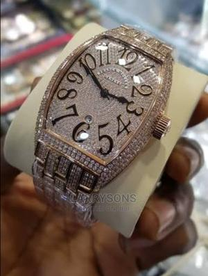 FRANCK Muller Stone Plated Wristwatch   Watches for sale in Kano State, Tarauni