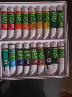 18 Colour Acrylic Professional Oil Colour for Arts   Stationery for sale in Lagos State, Alimosho