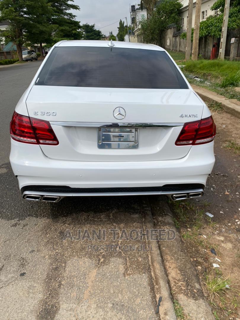 Mercedes-Benz E350 2016 White | Cars for sale in Gwarinpa, Abuja (FCT) State, Nigeria