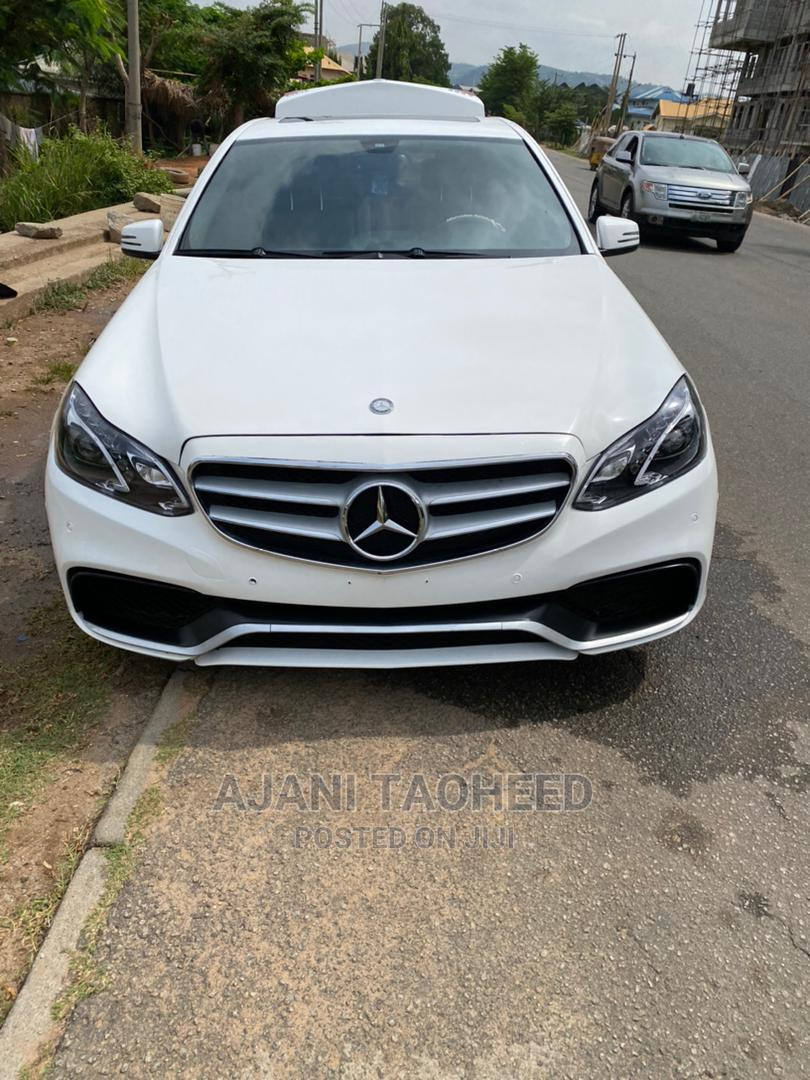 Mercedes-Benz E350 2016 White