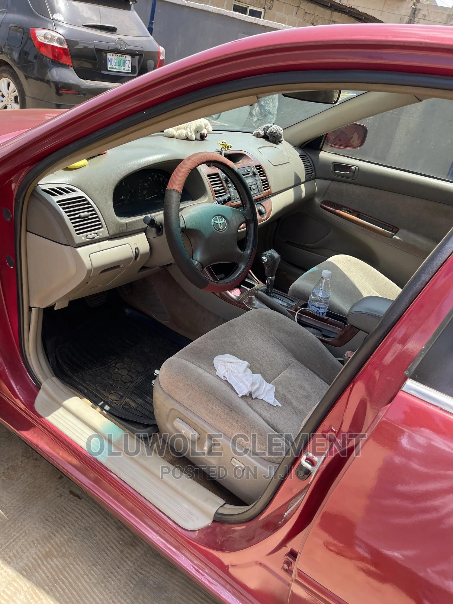 Toyota Camry 2004 Red   Cars for sale in Ikorodu, Lagos State, Nigeria