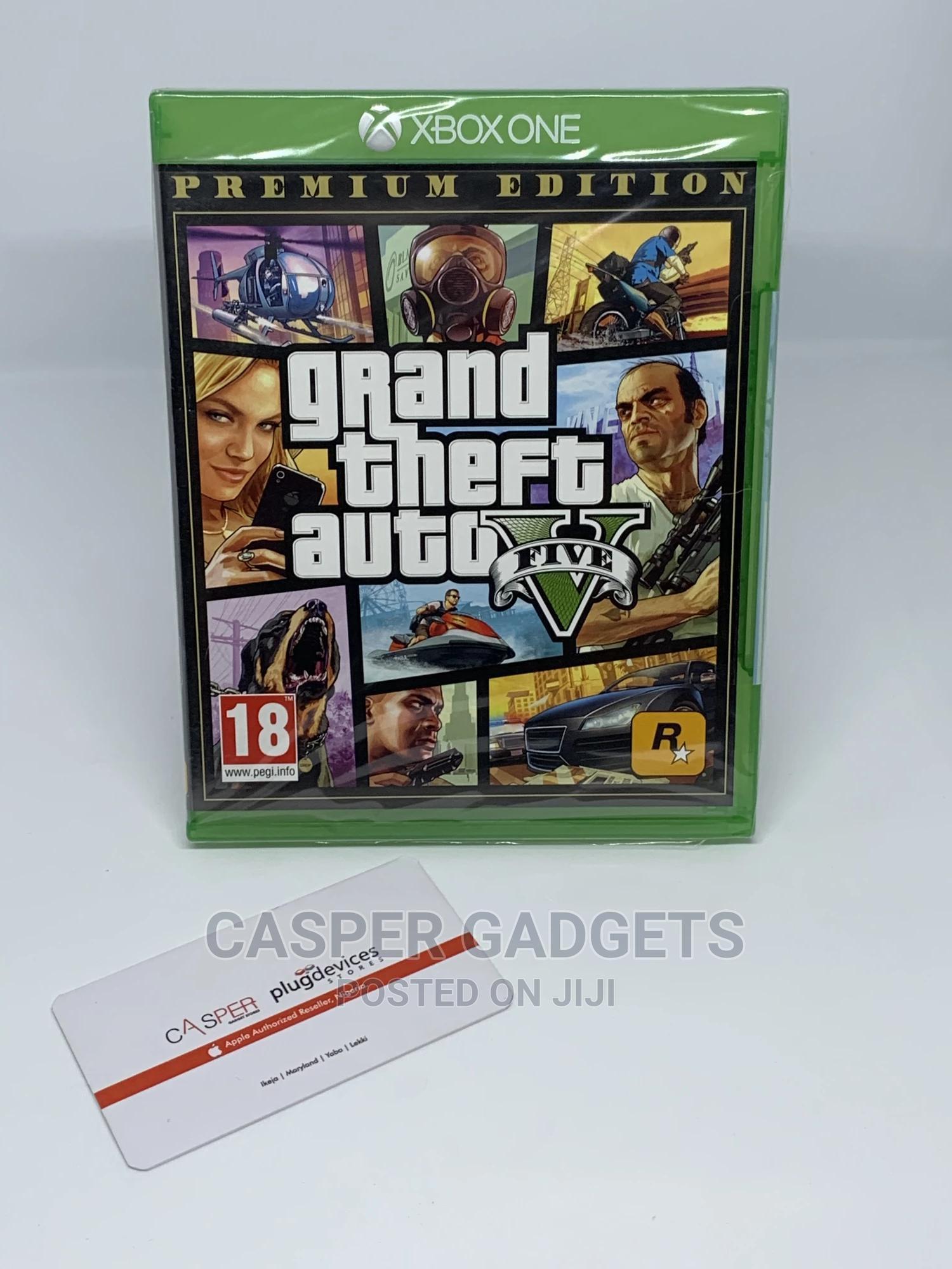 Xbox: Grand Thief Auto 5