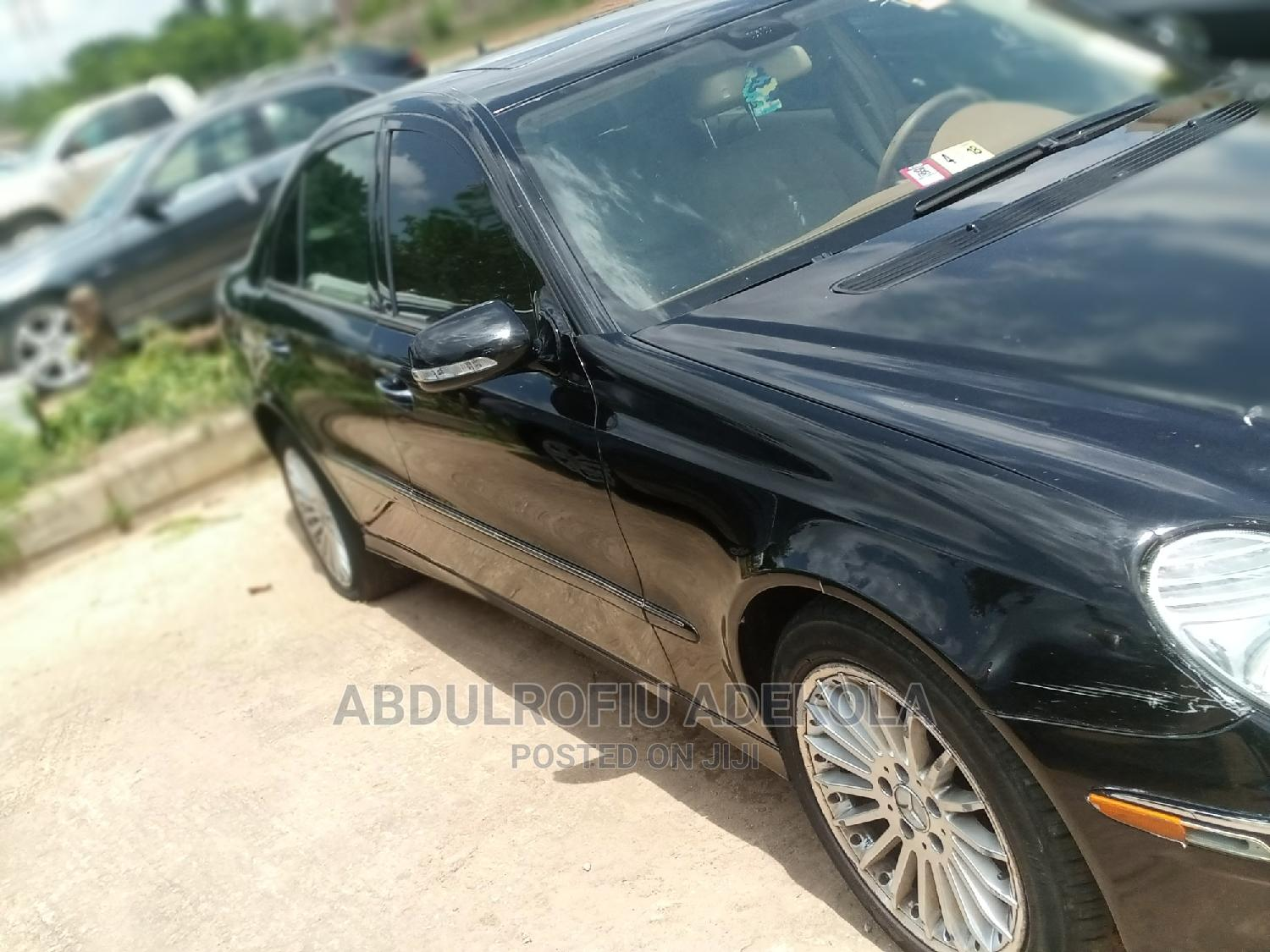 Mercedes-Benz E350 2008 Black | Cars for sale in Central Business Dis, Abuja (FCT) State, Nigeria